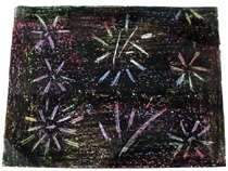 Crayon Scratch Art: Use Paper Clips, Crayons to Draw Fireworks