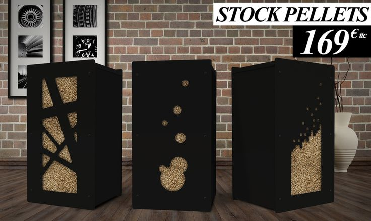 pour votre poele granule nouveau stockage pellets. Black Bedroom Furniture Sets. Home Design Ideas