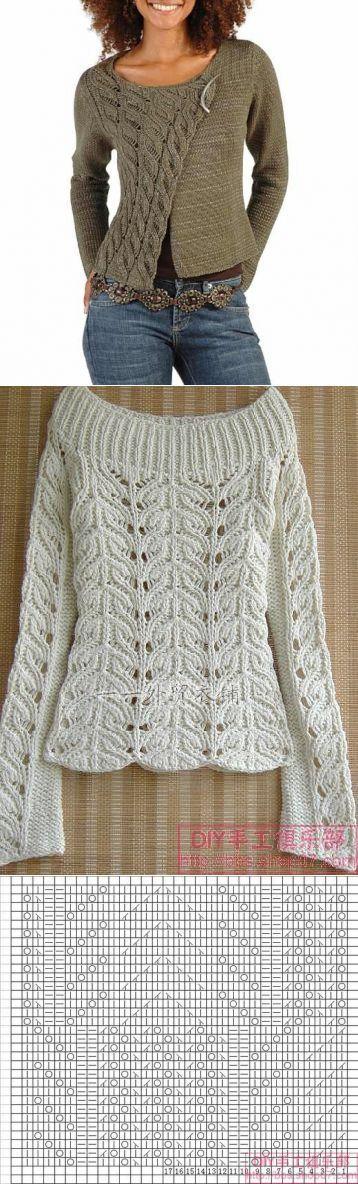 вязанное пальто. | Вязание | Постила