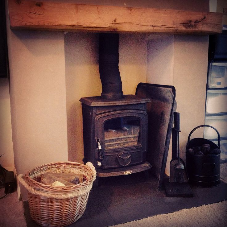 Log burner logburner fire fireplace aga little wenlock