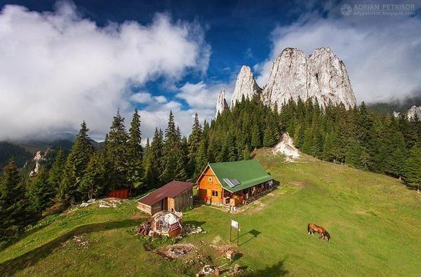 The Lonely Stone, Hășmaș Mountain, Romania