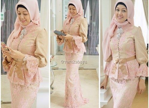 Modern Kebaya Dress Styles with Hijab