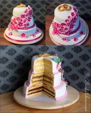 Hochzeitstorte1   – Torten/ Kuchen/ Fondant… ♡