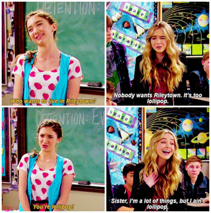 "#GirlMeetsWorld 2x07 ""Girl Meets Rules"" - Riley and Maya"