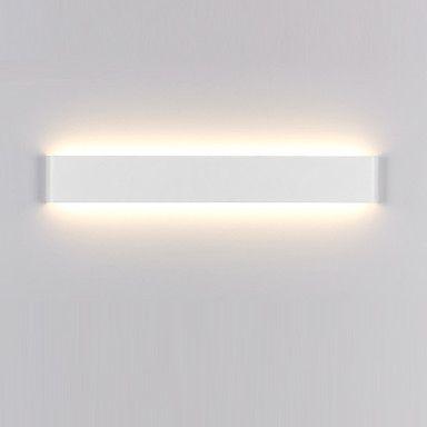 14w moderne / hedendaagse LED wall schansen licht indoor zwart / wit 16inch lange badkamer verlichting 5143892 2016 – €59.57