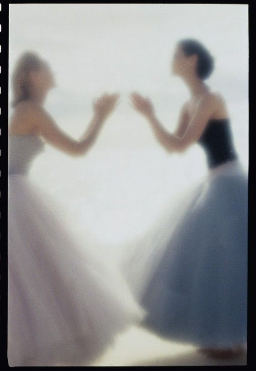 Amber Valletta and Shalom Harlow - Nick Knight - May 1995 issue