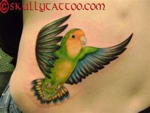 I want this. Lovebird tattoo