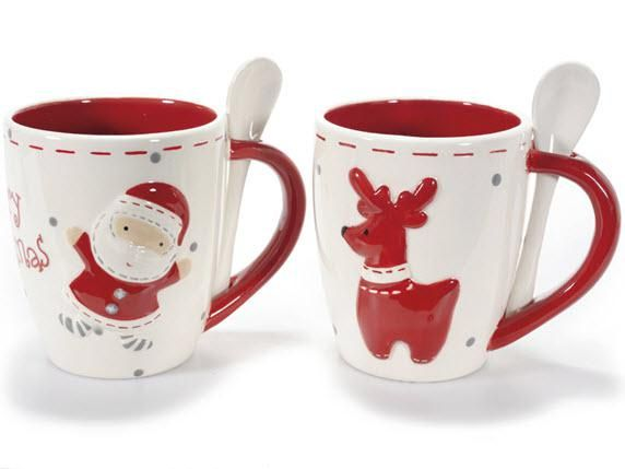 Fai colazione con Babbo Natale, non farti trovare impreparato , acquista la sua tazza ! http://www.idea-piu.com/store/1/caffettiere-tazze-552
