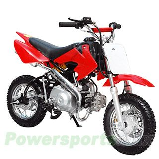 DB-T001 90cc Dirt Bike with Semi-Automatic Transmission, Foot start,Front Hydraulic Disc Brake!Chain Drive!