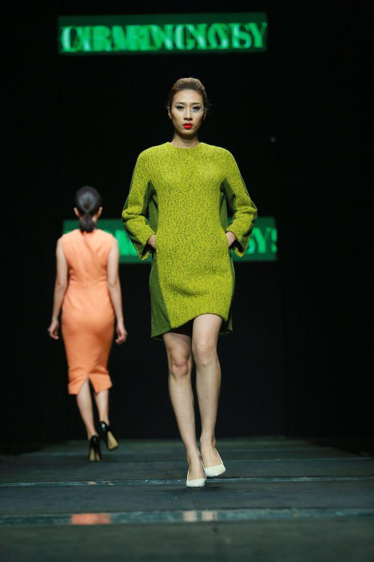 Vietnam Fashion Week FW15 - Ready to wear. Designer: Charming Lys. Photo: Thanh Dat