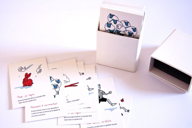 my own business cards as a french teacher :-)