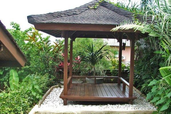 "Gazebo or ""Bale Bengong"" of Hillside Villa in Balangan Jimbaran bali"