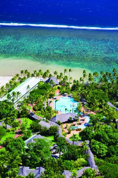 Outrigger on the Lagoon Fiji, Outrigger Fiji Aerial View