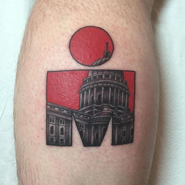 Finally got my ink. #imwi #ironman #tattoo