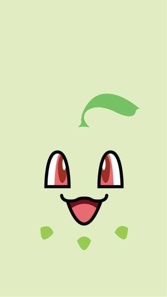 Chikorita | 20 Pokémon Background Pictures That'll Look Great On Your Phone