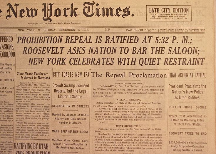 prohibition threw america into thirteen years of chaos The prohibition era in the the success was short-lived and the 18th amendment was repealed thirteen years later martin prohibition era timeline.