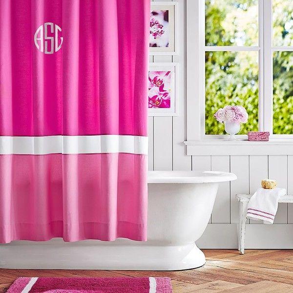 Best 25+ Pink Shower Curtains Ideas On Pinterest