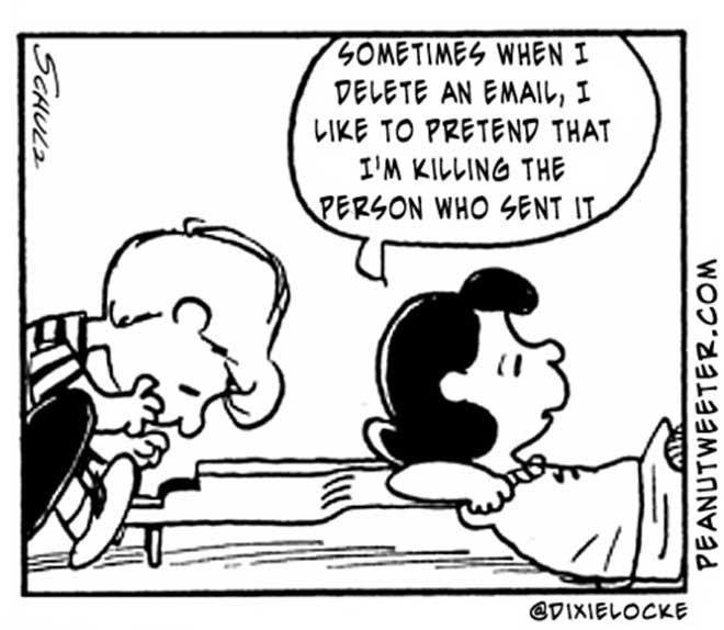 Slightly Altered Peanuts Cartoons