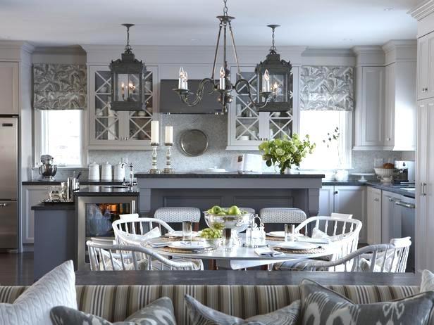 Gorg gray kitchen from Sarah Richardson's new suburban house!