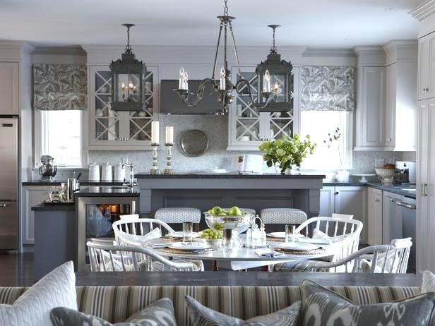 Gorg gray kitchen from Sarah Richardson's new suburban house!