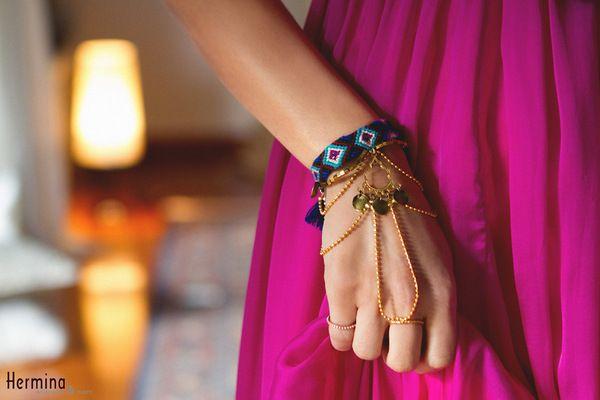 Hermina wristwear - Reina bracelet