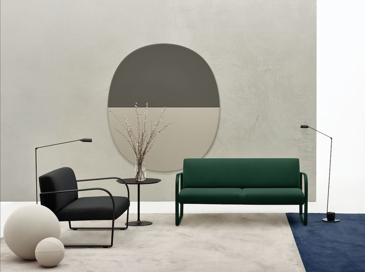 Recliner Sofa Lievore Altherr u NEW PROJECTS MILANO new Arcos Collection for Arper here shown with