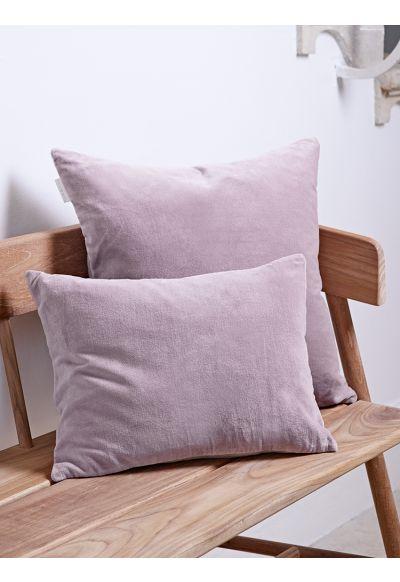 Velvet & Linen Cushions - Vintage Mauve - Bed & Bath - Indoor Living