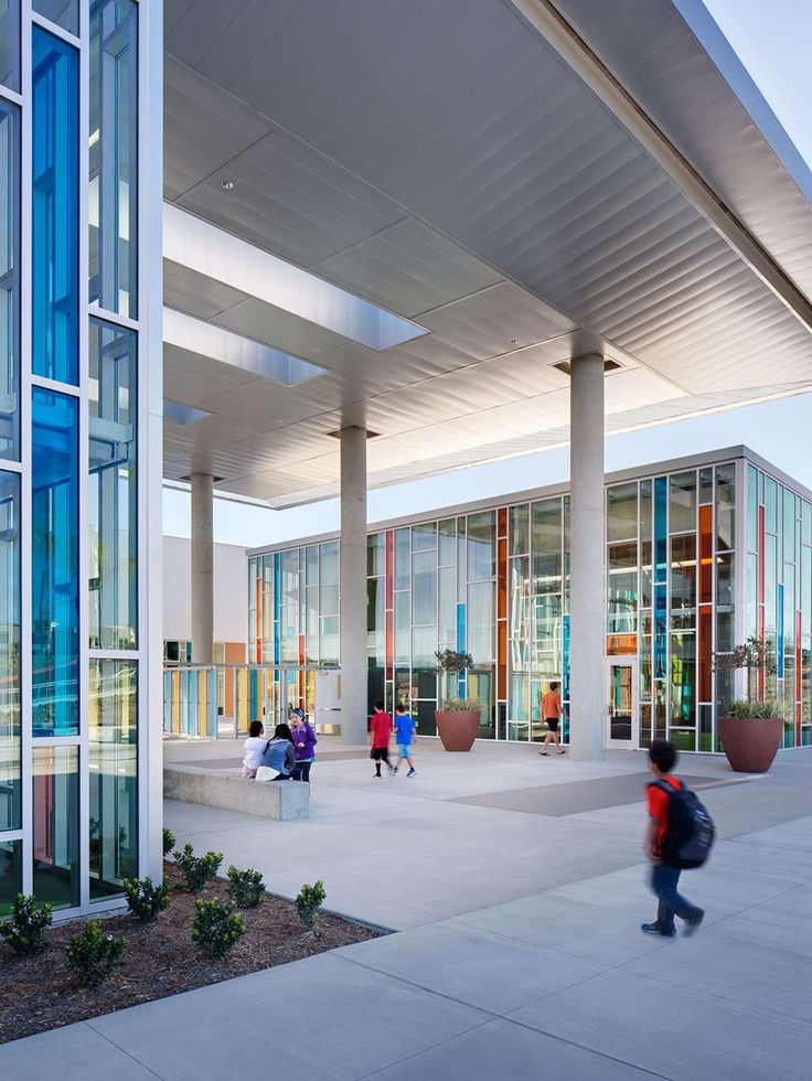 Beau All Project Photography: Copyright Zack Benson Photography The Campus Is  Designed To Provide For And · School EntranceSchool ArchitectureArchitecture  ...