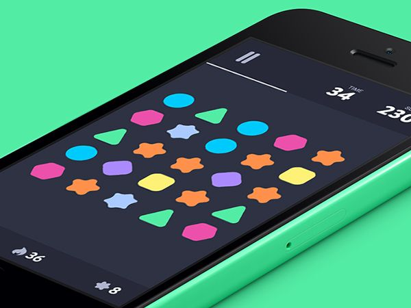 iOS Game by Muharrem Şenyıl, via Behance