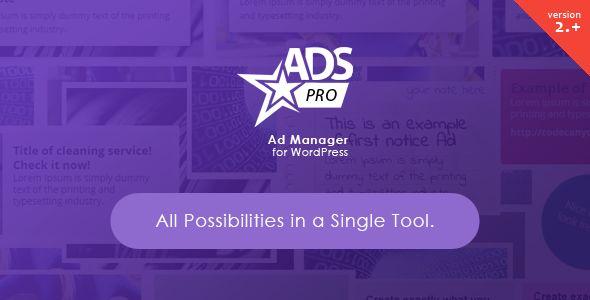 ADS PRO - Multi-Purpose WordPress Ad Manager