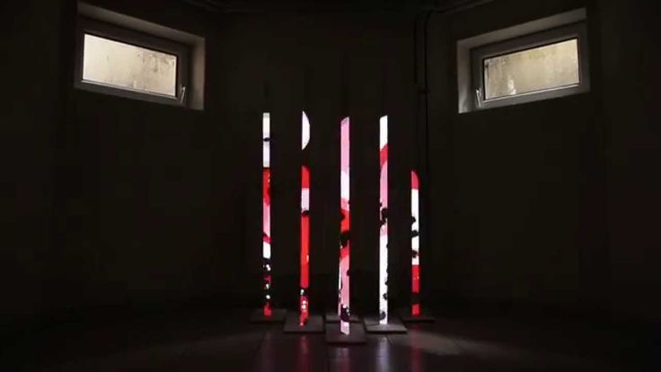 """Projection Mapping  - """"Red Forest"""" [ with After Effects ]"""