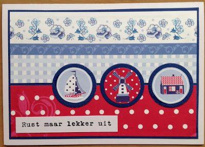Kaartenblog van Tineke: Echt Hollands.