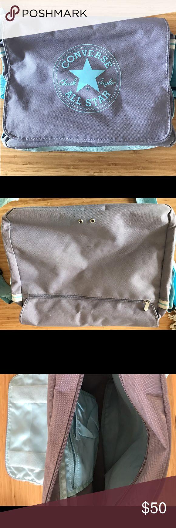 CONVERSE school bag! Amazing All Star/Converse bag. Converse Bags Shoulder Bags