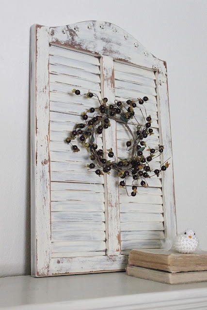 <3 shabby chic, vintage shutters