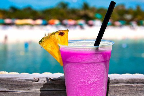 I don't know what this is, but it looks delicious: Pink Summer, Piña Colada, Fruit Drinks, Pink Drinks, Frozen Drinks, Summertime, Beaches Drinks, Fruity Drinks, Summer Time
