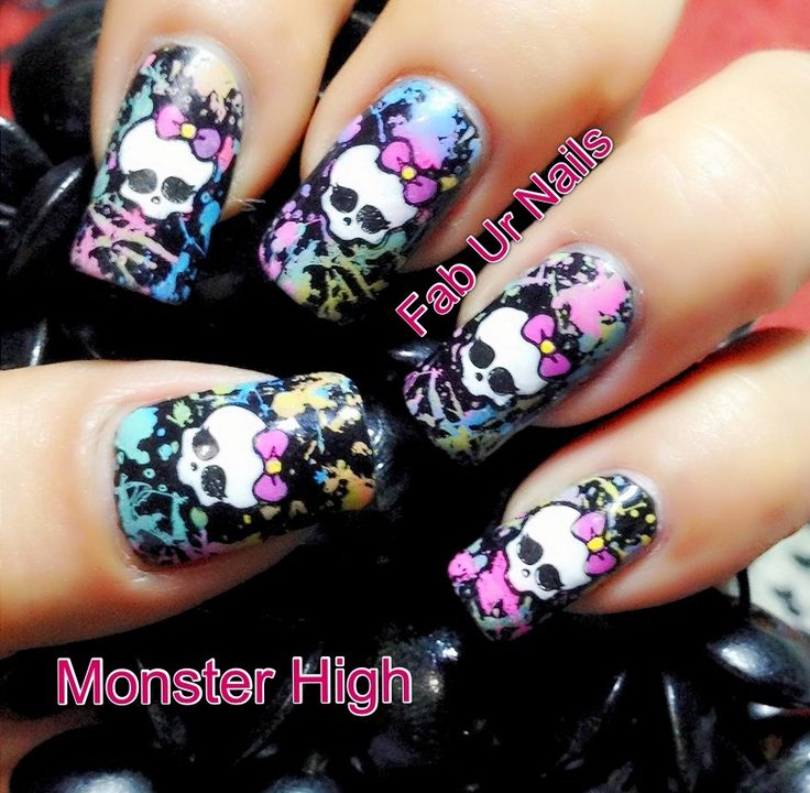 Monster high FUN image plate