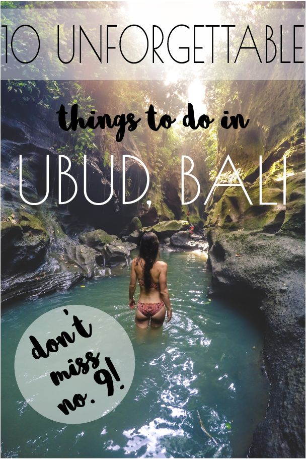 Ubud activities Pinterest