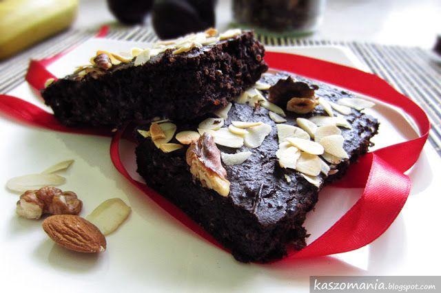 Brownie z kaszy jaglanej