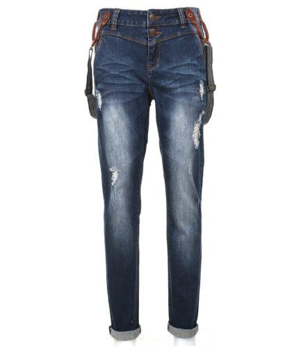 Eight2Nine Damen Jeans mit Knopfleiste by Urban Surface mit abnehmbaren Hosenträgern Damenjeans 5 Pocket Boyfriend, S Eight2Nine http://www.amazon.de/dp/B00IJFLC00/ref=cm_sw_r_pi_dp_VLMTvb06Z6PWR