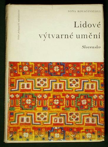 Book Slovak Folk Art - by Sona Kovacevicova