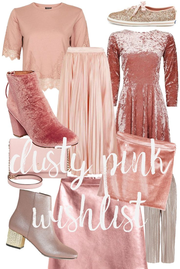 Dusty Pink Outfit Ideas For New Year's Eve & A Freebie!