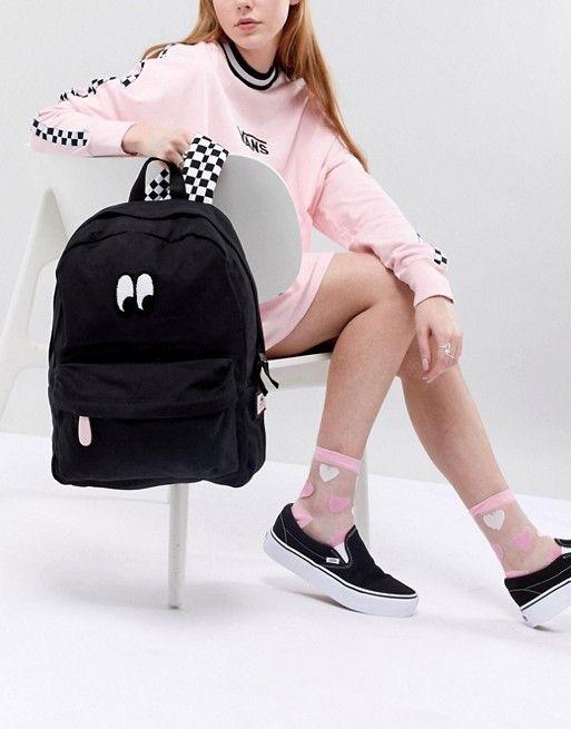 69994f9dd2 Vans X Lazy Oaf Eyeball Backpack