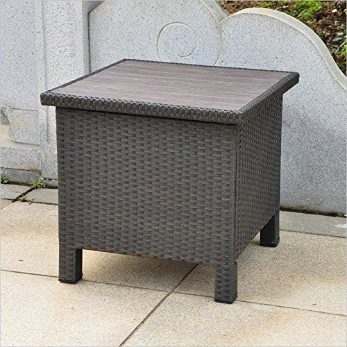 Special Offers - International Caravan Barcelona All-Weather Wicker Contemporary Outdoor Storage Table - In stock & Free Shipping. You can save more money! Check It (July 10 2016 at 02:01AM) >> http://storagecabinetusa.net/international-caravan-barcelona-all-weather-wicker-contemporary-outdoor-storage-table/