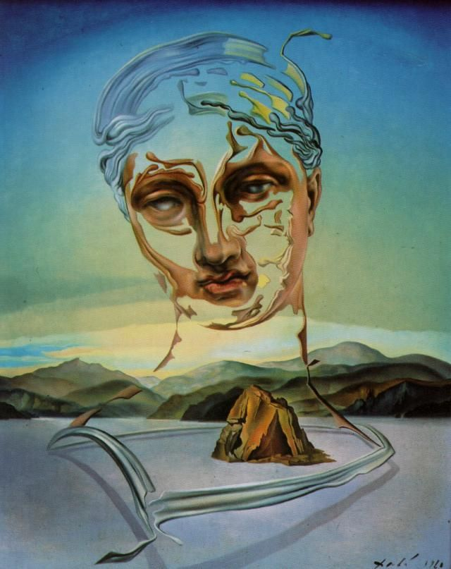 Salvador Dali - Birth of a Divinity, 1960