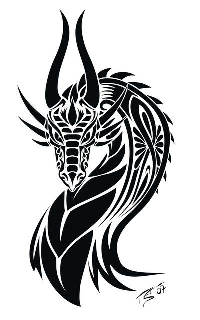 Dragon_Tattoo by *Illumielle on deviantART #dragon #tattoos #tattoo