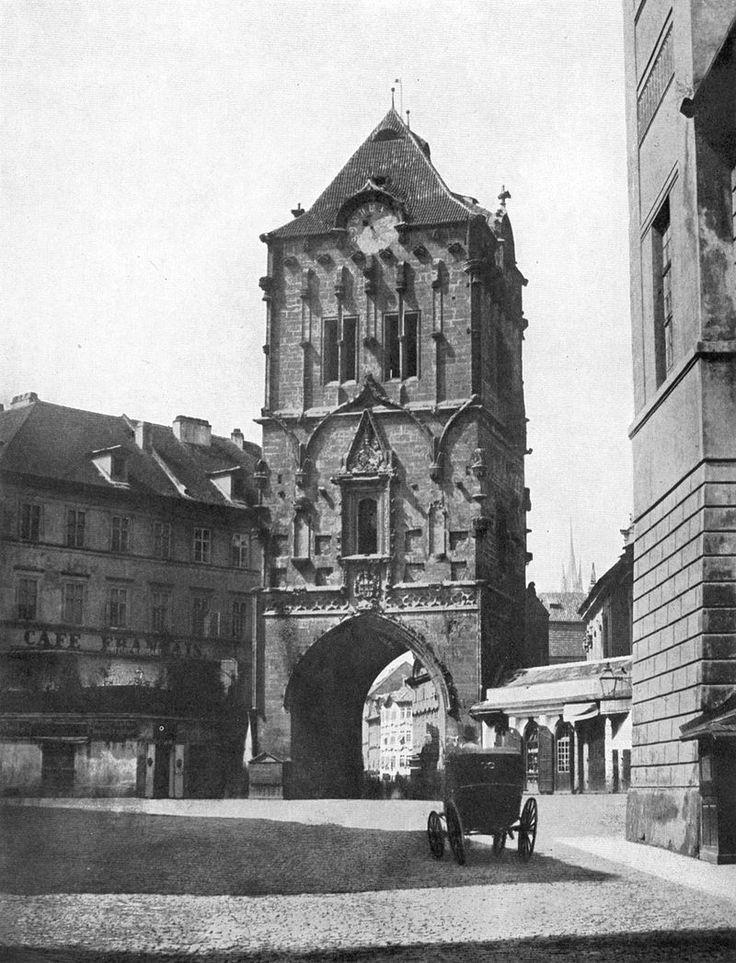 Prag - Pulverturm 1856 (Andreas Groll)