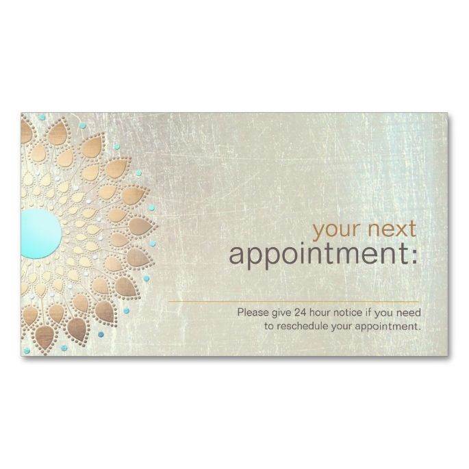 2049 best massage business cards images on pinterest massage gold lotus salon and spa appointment card appointment cardmassage businesssalon accmission Choice Image