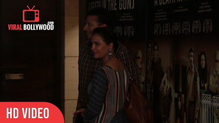Lara Dutta At A Death In The Gunj Special Screening