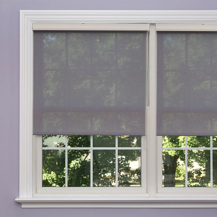 Premium Linen Look Window Roller Shade Window Shades