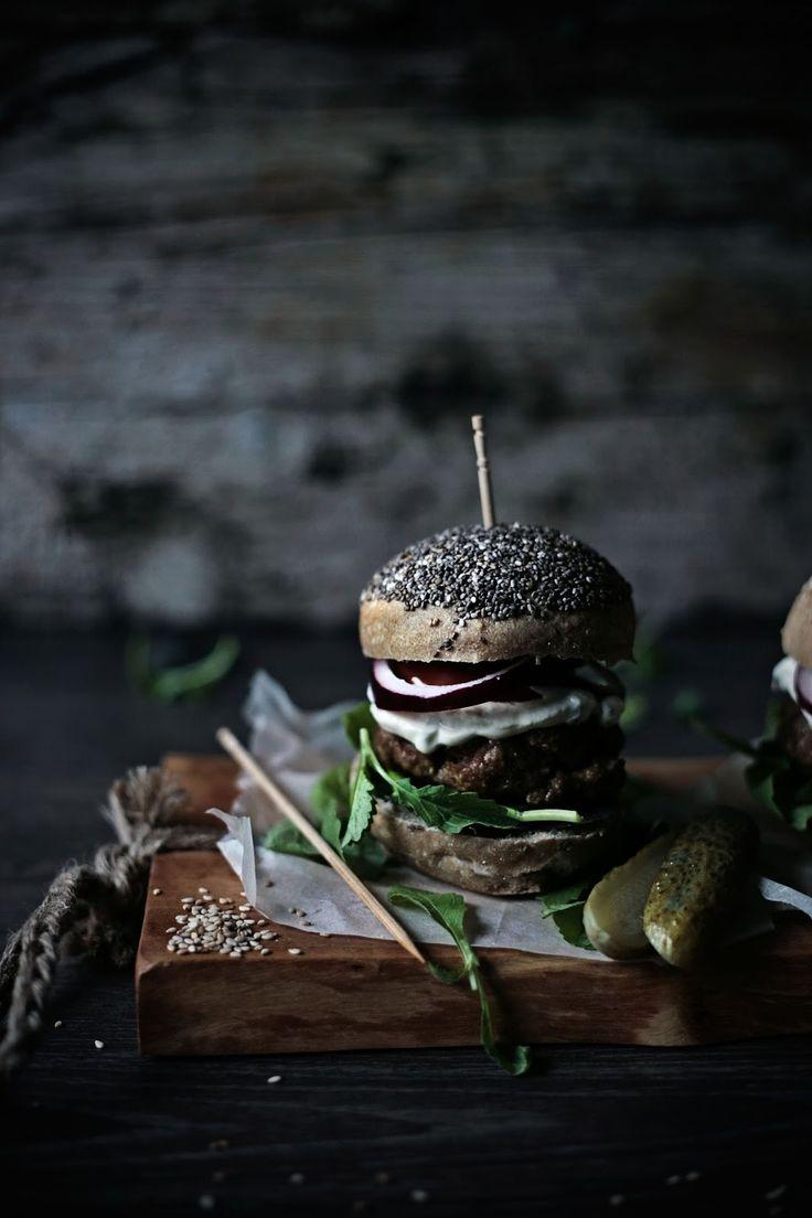 Pratos e Travessas: Os meus hambúrgueres de vaca # My beef burgers